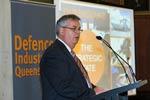 Queensland's Defence Industries Envoy, Lindsay Pears, provides a keynote address