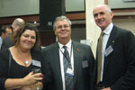 Kerry Richards, Merino Country; Lindsay Pears, Defence Industries Queensland; Don Roach, Volvo Group