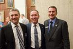 Graeme Breen, Airbus Group Australia Pacific; Terry Nichols, Boeing Defence Australia; Scott Harris, Northrop Grumman