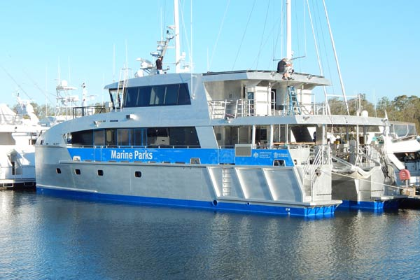 Reef Ranger constructed by Marine Engineering Consultants launched